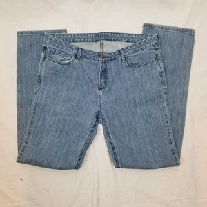 SIMPLY VERA VERA WANG STRAIGHT BLUE JEANS SIZE 14